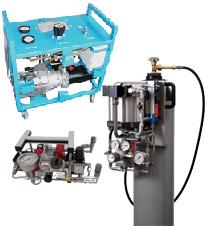 Plnění akumulátorů dusíkem